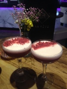 French Raspberry Martini's.