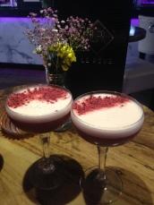 French Raspberry Martini's.